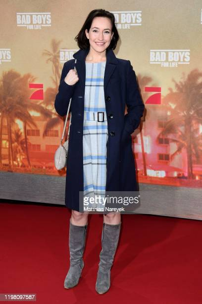 Maike von Bremen attends the Berlin premiere of the movie Bad Boys For Life at Zoo Palast on January 07 2020 in Berlin Germany