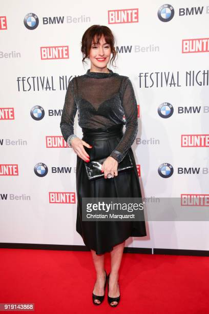 Maike von Bremen attends the BUNTE BMW Festival Night on the occasion of the 68th Berlinale International Film Festival Berlin at Restaurant...