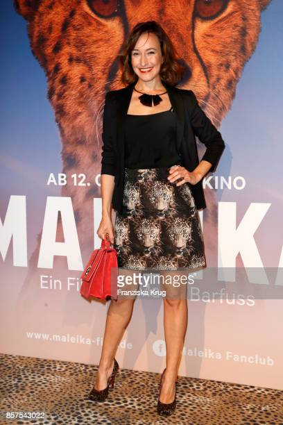 Maike von Bremen attends the 'Maleika' Premiere at Zoo Palast on October 4 2017 in Berlin Germany