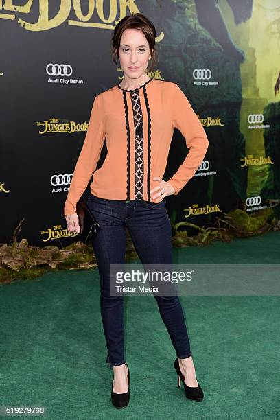 Maike von Bremen attends the 'The Jungle Book' German Premiere on April 05 2016 in Berlin Germany