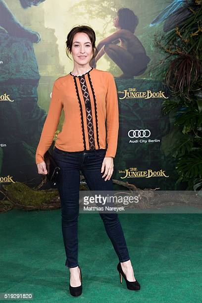 Maike von Bremen attends the 'The Jungle book' German Premiere on April 5 2016 in Berlin Germany
