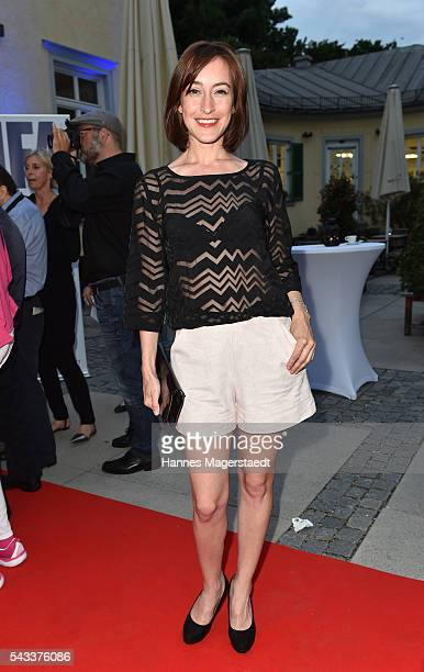 Maike von Bremen attends the UFA Fiction Reception during the Munich Film Festival 2016 at Cafe Reitschule on June 27 2016 in Munich Germany