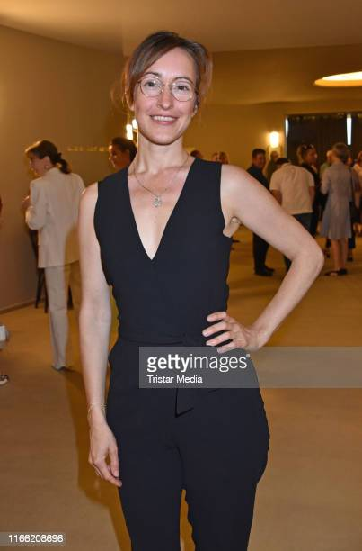 Maike von Bremen attends the 'Zuhause bin ich Darling' theater premiere at Komoedie am Kurfuerstendamm im SchillerTheater on August 4 2019 in Berlin...