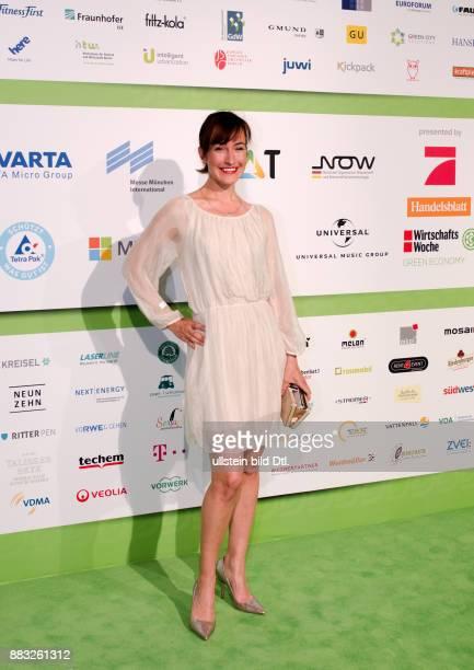 Maike von Bremen auf den GreenTec Awards 2015 im Velodrom Berlin am