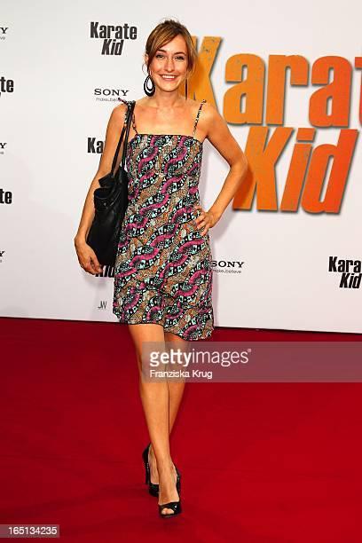 Maike Von Bremen Bei Der Deutschlandpremiere Des Kinofilms Karate Kid Im Cinestar Am Potsdamer Platz In Berlin