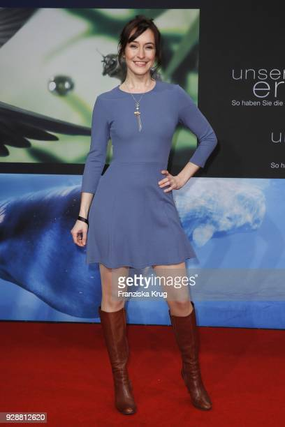 Maike von Bremen during the 'Unsere Erde 2' premiere at Zoo Palast on March 7 2018 in Berlin Germany