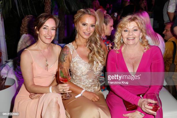 Maike von Bremen Radost Bokel and Inger Nilsson during the Raffaello Summer Day 2018 to celebrate the 28th anniversary of Raffaello at Villa von der...