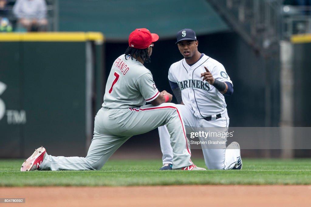 Philadelphia Phillies v Seattle Mariners : News Photo