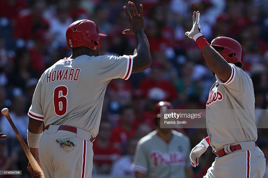 Philadelphia Phillies v Washington Nationals : News Photo