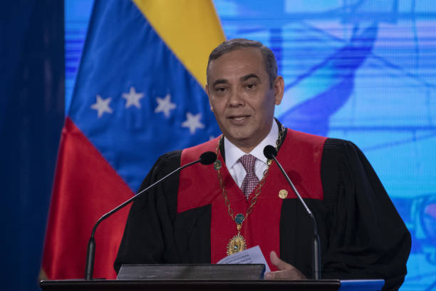 VEN: President Maduro Speaks Before The Supreme Court At Judiciary Event