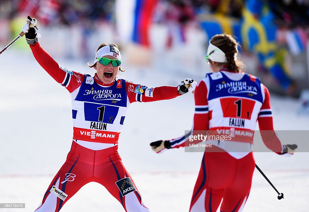 Cross Country: Men's & Women's Team Sprint - FIS Nordic World Ski Championships : News Photo