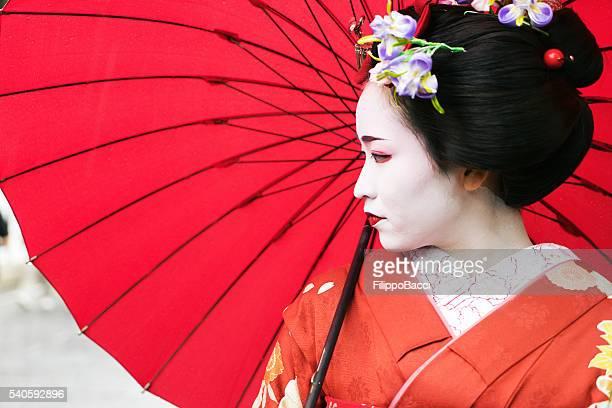 Maiko Mädchen Portrait