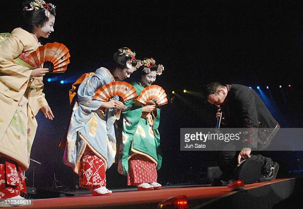 Maiko Perform Mysterious Ways with U2 during Maiko Perform Mysterious Ways with U2 December 4 2006 at Saitama Super Arena in Saitama Japan