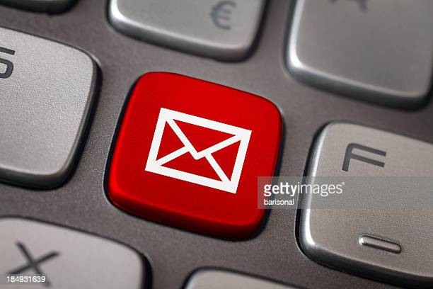 mail button - e mail inbox stock pictures, royalty-free photos & images
