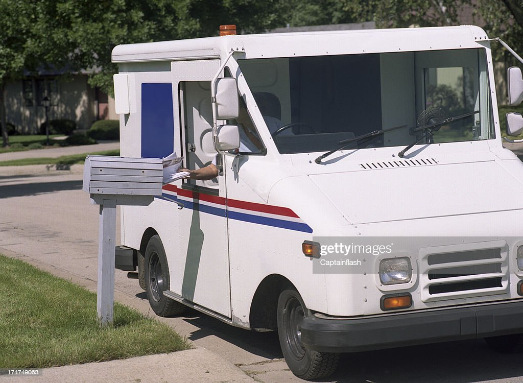 Mail Delivery : Stock Photo