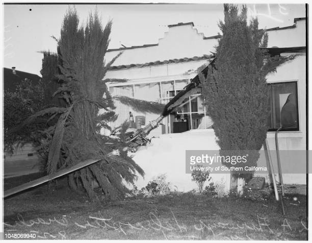 Mail helicopter crash 27 August 1951 Los Angeles Airways helicopter wreckedEdward Page 11609 Esther Street Lynwood California USA