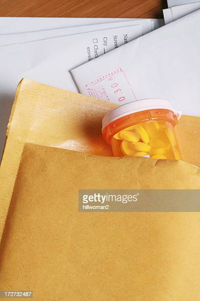 mail order prescription - home shopping stock pictures, royalty-free photos & images