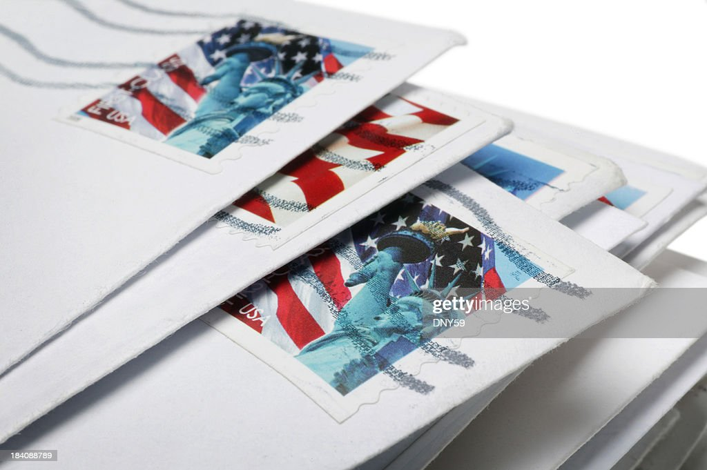 US Mail : Stock Photo