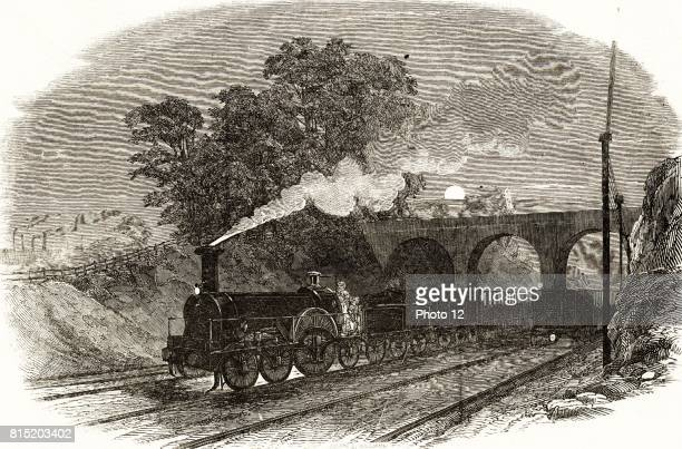 A mail train on which letters were sorted while it travelled through the night between cities replacing the need for the horsedrawn mail coaches From...
