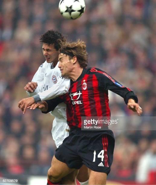 LEAGUE 02/03 Mailand AC MAILAND FC BAYERN MUENCHEN 21 Claudio PIZARRO/FC BAYERN MUENCHEN Dario SIMIC/AC MAILAND