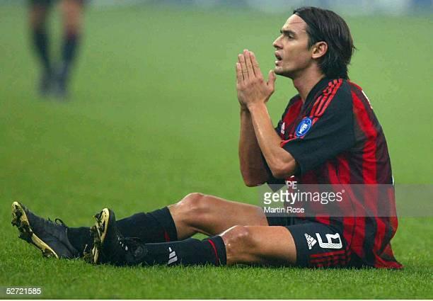 LEAGUE 02/03 Mailand AC MAILAND FC BAYERN MUENCHEN 21 Filippo INZAGHI/MAILAND
