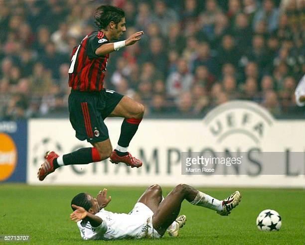 LEAGUE 02/03 Mailand AC MAILAND FC BAYERN MUENCHEN Rui COSTA/Mailand ZE ROBERTO/Muenchen
