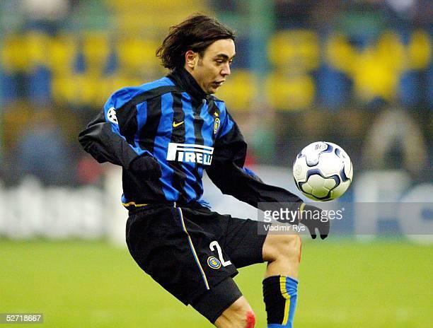 LEAGUE 02/03 Mailand INTER MAILAND BAYER 04 LEVERKUSEN 32 Alvaro RECOBA/INTER