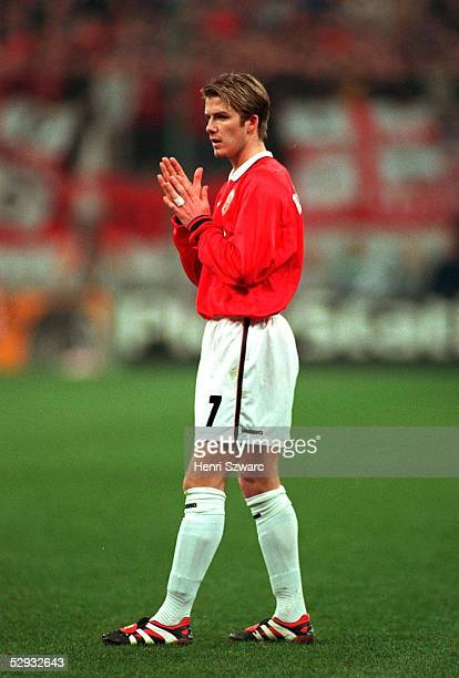 Mailand INTER MAILAND MANCHESTER UNITED 11 David BECKHAM/Manchester United