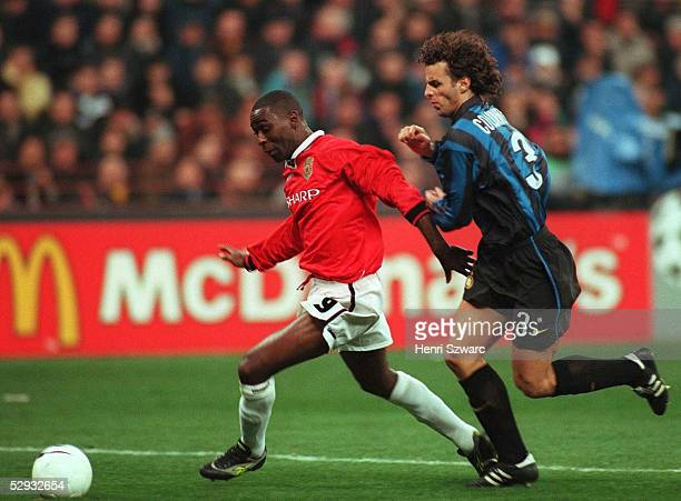 Mailand INTER MAILAND MANCHESTER UNITED 11 Dwight YORKE/Manchester United F COLONNESE/Inter Mailand