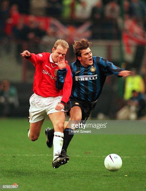 Mailand INTER MAILAND MANCHESTER UNITED 11 H BERG/Manchester United N VENTOLA/Inter Mailand