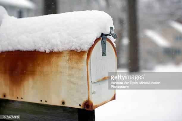 mailbox - vanessa van ryzin foto e immagini stock