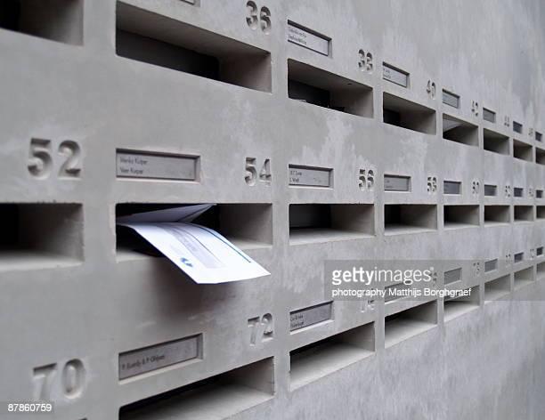mailbox - matthijs borghgraef stockfoto's en -beelden