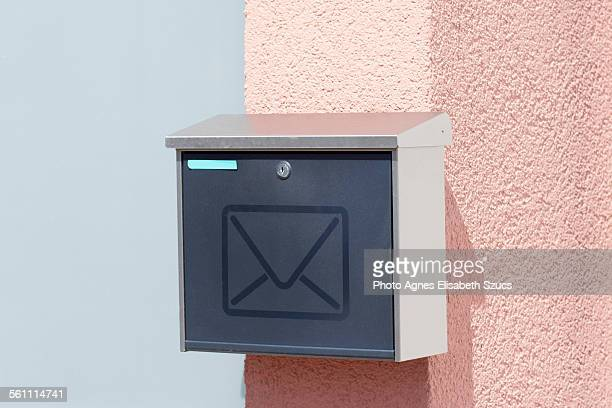 Mailbox with mail symbol