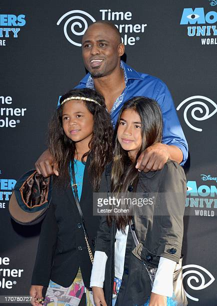 Maile Masako Brady actor Wayne Brady and guest attend the world premiere of Monsters University at the El Capitan Theatre on June 17 2013 in...