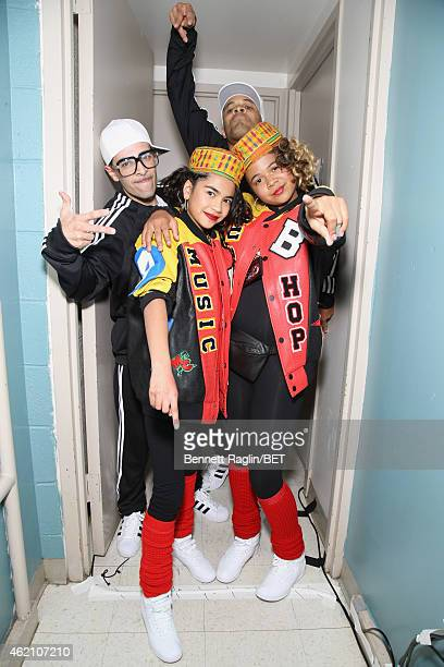 Maile Masako Brady poses backstage during The BET Honors 2015 at Warner Theatre on January 24 2015 in Washington DC