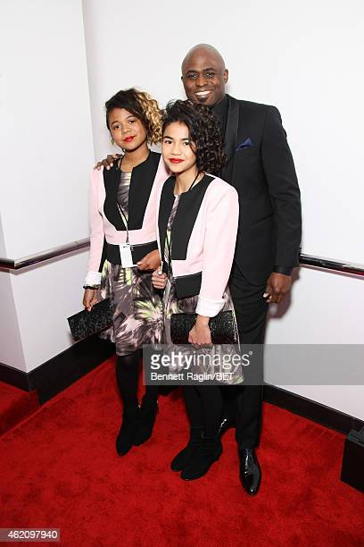 Maile Masako Brady Wayne Brady and guest attend The BET Honors 2015 at Warner Theatre on January 24 2015 in Washington DC