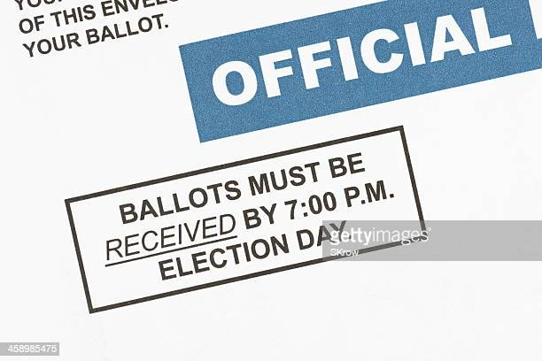 mail-in ballot deadline - absentee ballot stock pictures, royalty-free photos & images