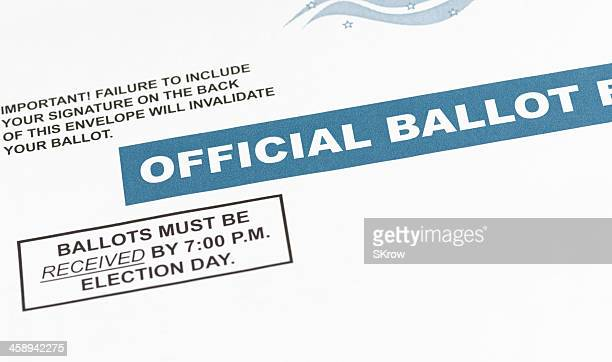 mail-in ballot - absentee ballot stock pictures, royalty-free photos & images