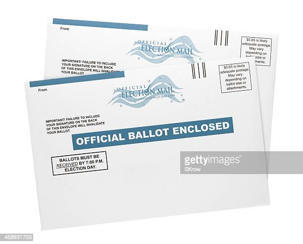 mail-in ballots - mail stock pictures, royalty-free photos & images