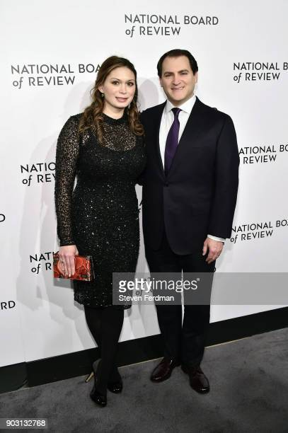 MaiLinh Lofgren and Michael Stuhlbarg attend the 2018 The National Board Of Review Annual Awards Gala at Cipriani 42nd Street on January 9 2018 in...