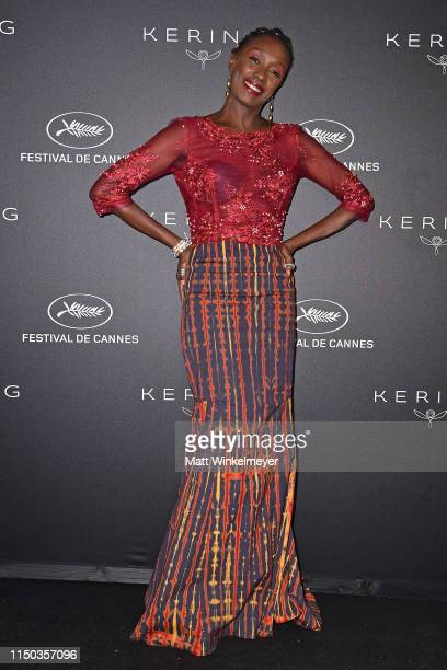 Maimouna N'Diaye attends the Kering Women In Motion Awards during the 72nd annual Cannes Film Festival on May 19, 2019 in Cannes, France.