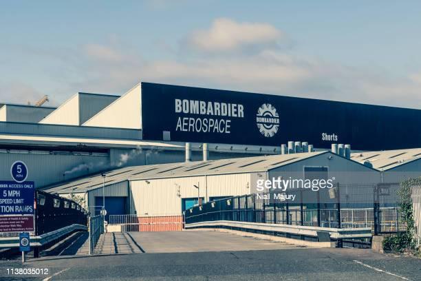 Main assembly facility of Bombardier Aerospace (Shorts) in Belfast