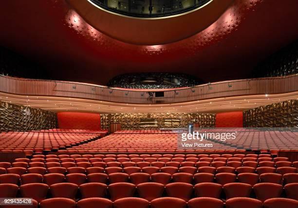 Main auditorium space National Taichung Theater Taichung China Architect Toyo Ito 2016
