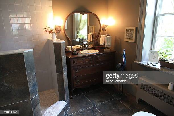 TORONTO ON October 31 Main bathroomAndrea Mathieson is the owner of The Rupert House A piece of Torontoarea history is on the market Rupert House...
