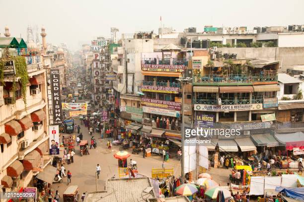 main bazar new delhi - fotofojanini foto e immagini stock