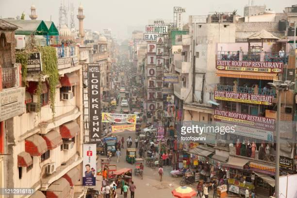main bazar pahargan new delhi - fotofojanini foto e immagini stock