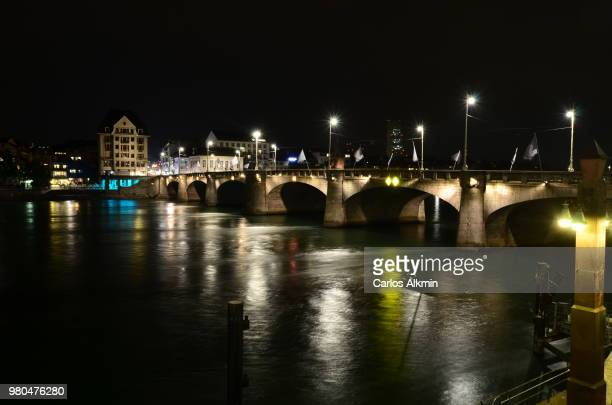 Main bridge in Basel, Switzerland, the Mittlere Brucke