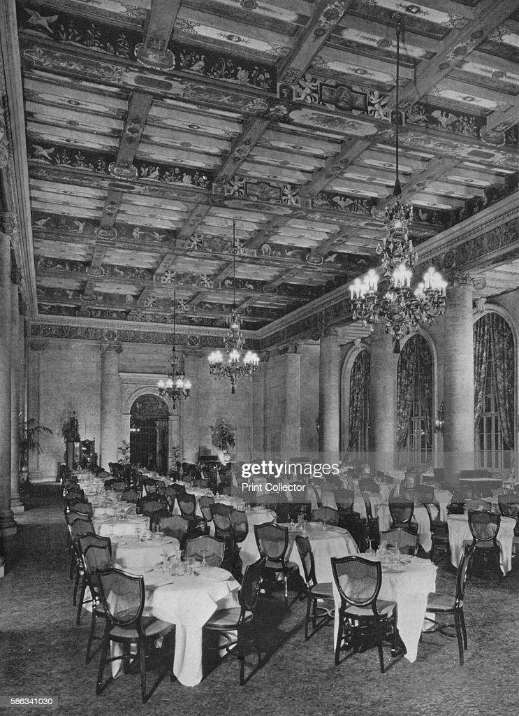 Main Dining Room Los Angeles Biltmore Hotel Los Angeles News
