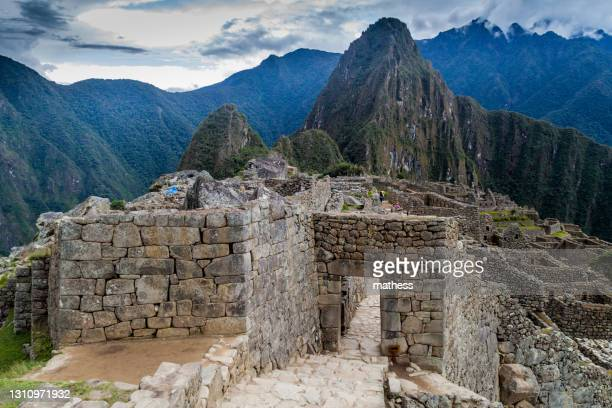 main entrance to machu picchu ruins