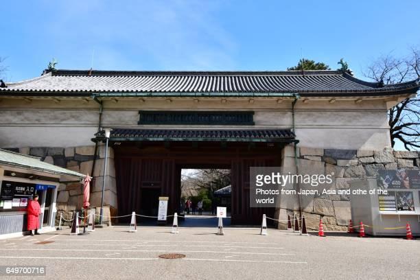 Main Entrance to Nagoya Castle, Nagoya, Japan